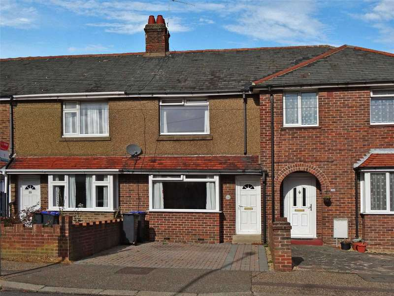 2 Bedrooms Terraced House for sale in Leigh Road, Broadwater, Worthing, BN14