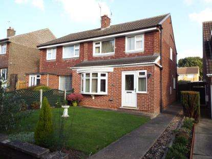 3 Bedrooms Semi Detached House for sale in Richey Close, Arnold, Nottingham, Nottinghamshire