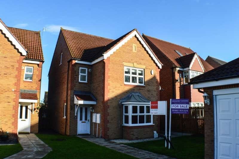 4 Bedrooms House for sale in Castlefields Drive, Prudhoe, NE42