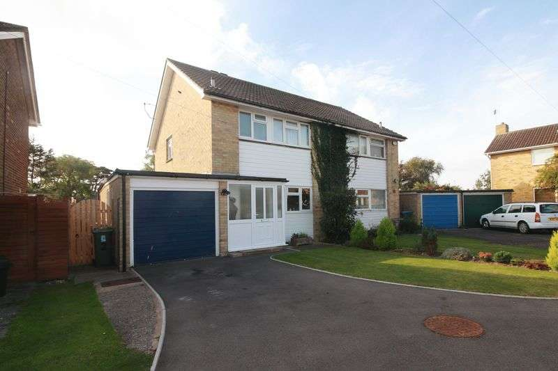 3 Bedrooms Semi Detached House for sale in Ashmere Gardens, Felpham