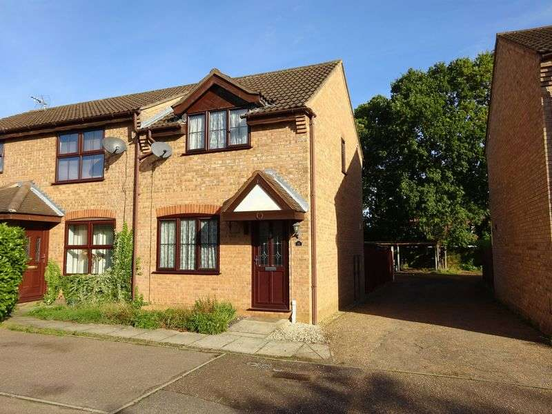 2 Bedrooms Terraced House for sale in Snowberry Close, Taverham, Norwich
