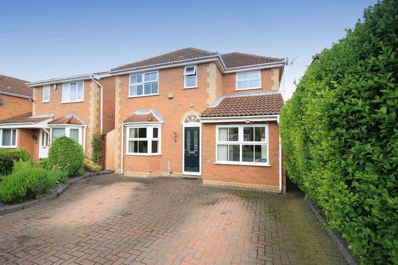 4 Bedrooms Detached House for sale in COACH WAY, WILLINGTON