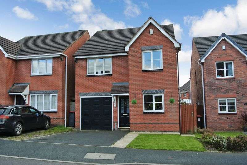 4 Bedrooms Detached House for sale in Ellis Peters Drive, Aqueduct, Telford, Shropshire.