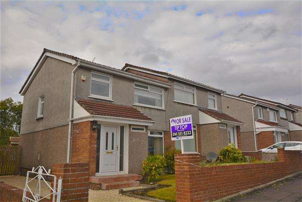 3 Bedrooms Semi Detached House for sale in Gargrave Avenue, Baillieston