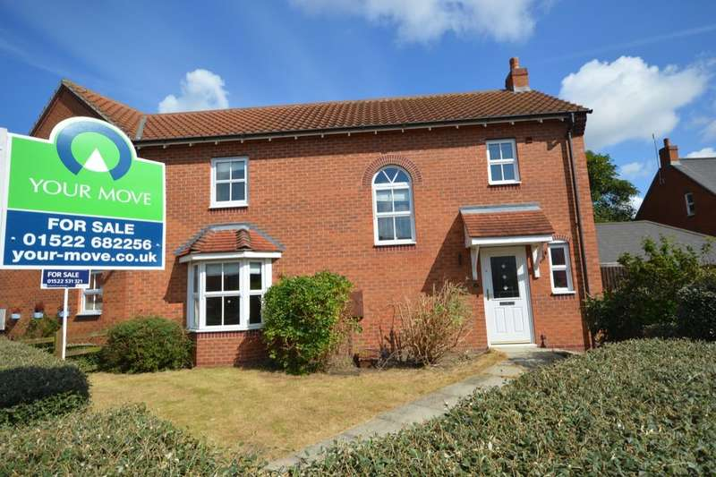 3 Bedrooms Semi Detached House for sale in Oak Tree Drive, Witham St. Hughs, Lincoln, LN6