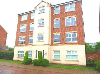 2 Bedrooms Flat for sale in Mountbatten Way, Chilwell, Beeston, Nottingham