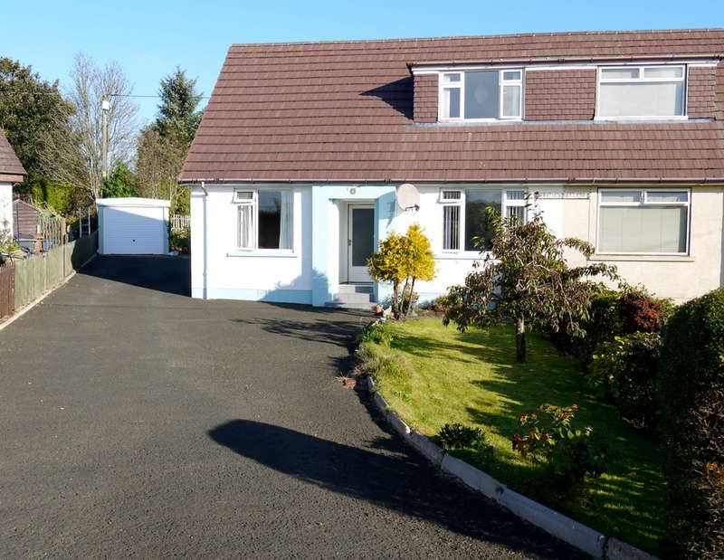 3 Bedrooms Semi Detached House for sale in Clement Terrace, Hollybush, KA6