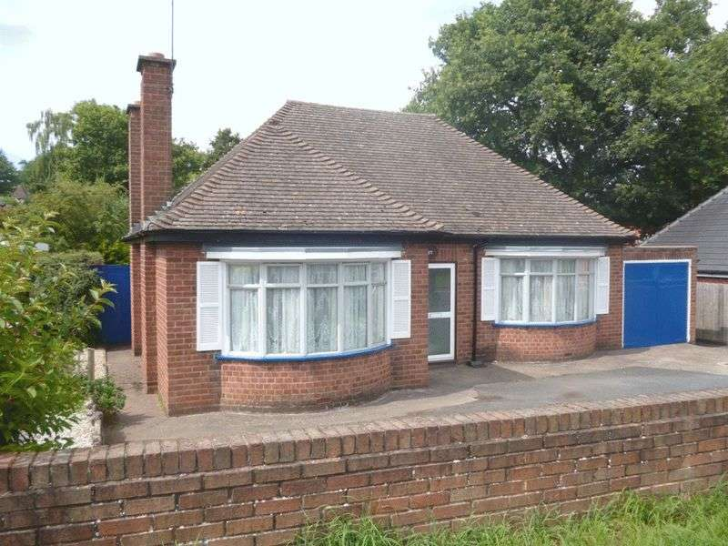 2 Bedrooms Detached Bungalow for sale in Rifle Range Road, Kidderminster DY11 7NA