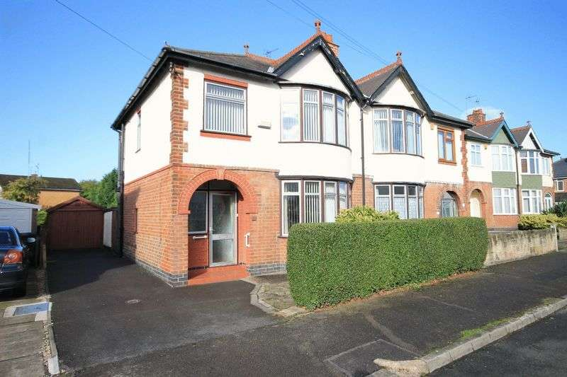 3 Bedrooms Semi Detached House for sale in WALNUT AVENUE, ALVASTON