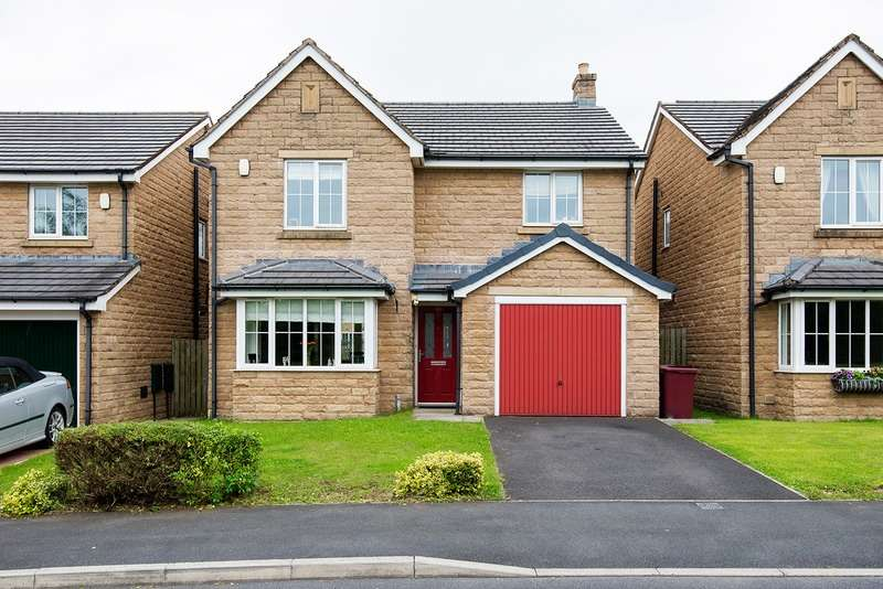 4 Bedrooms Detached House for sale in Greenbrook Road, Burnley, Lancashire, BB12
