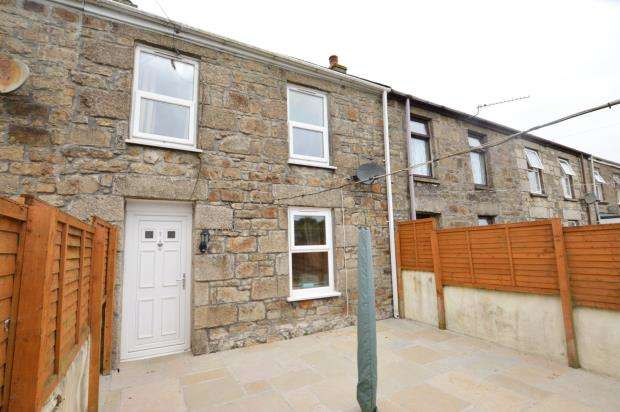 2 Bedrooms Terraced House for sale in Centenary Row Middle, Camborne, Cornwall