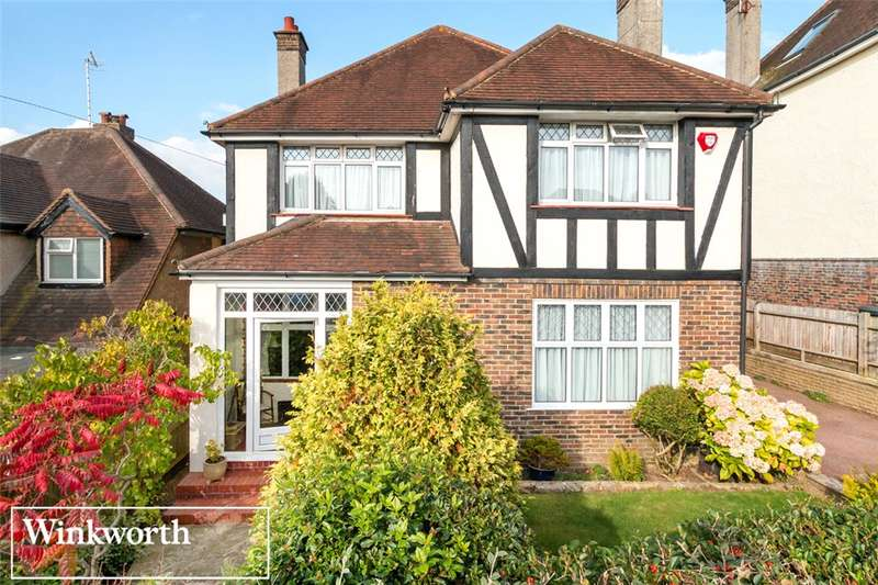 4 Bedrooms Detached House for sale in Varndean Gardens, Brighton, East Sussex, BN1