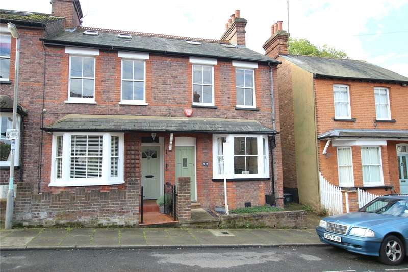 3 Bedrooms Terraced House for sale in Grange Street, St. Albans, Hertfordshire, AL3