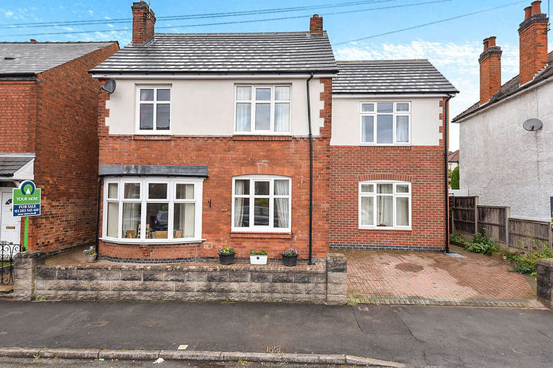 6 Bedrooms Detached House for sale in Swannington Street, Burton-On-Trent, DE13