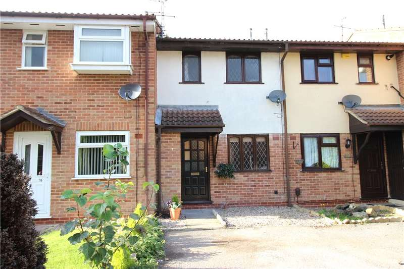 2 Bedrooms Terraced House for sale in Kestrels Croft, Sinfin, Derby, Derbyshire, DE24