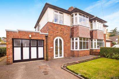 3 Bedrooms Semi Detached House for sale in Broadway, Fulwood, Preston, Lancashire, PR2