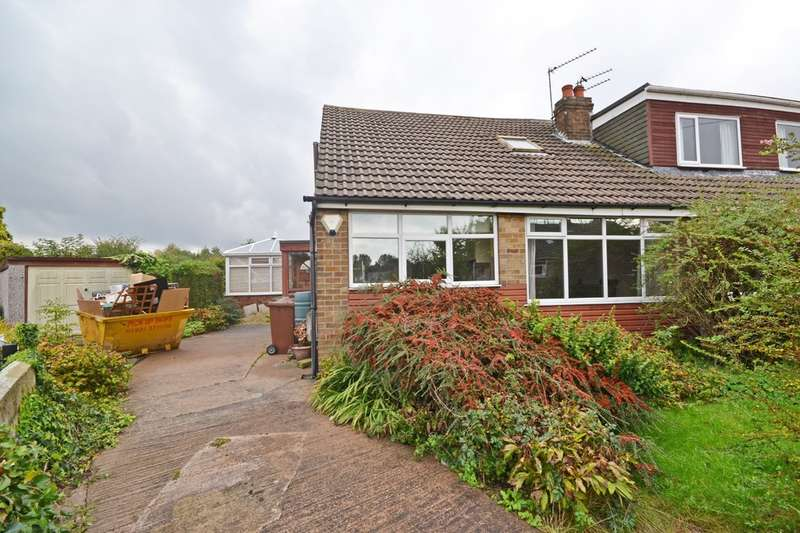 3 Bedrooms Semi Detached Bungalow for sale in Lingwell Gate Crescent, Outwood, Wakefield