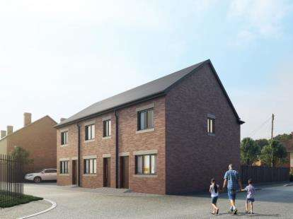 2 Bedrooms Mews House for sale in The Rookery, Newcastle, Staffordshire