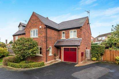 4 Bedrooms Detached House for sale in Church View, Great Haywood, Stafford, Staffordshire