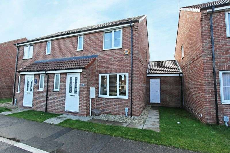 3 Bedrooms Semi Detached House for sale in Richmond Way, Kingswood