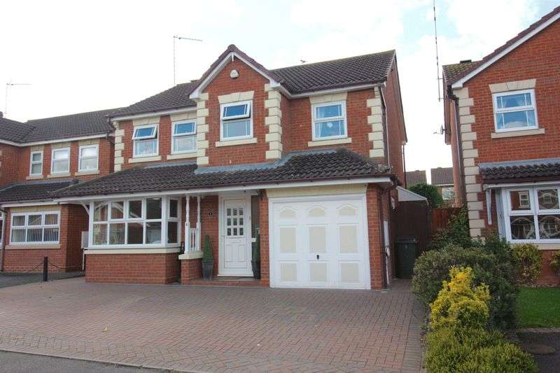 4 Bedrooms Detached House for sale in Hulme Close, Binley, Coventry