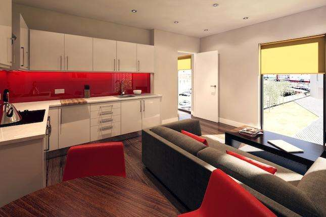 1 Bedroom Property for sale in North Point Pall Mall, Liverpool, L3 0AH