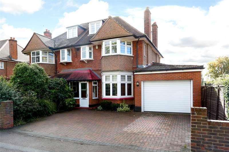 4 Bedrooms Semi Detached House for sale in Coombe Lane, London, SW20