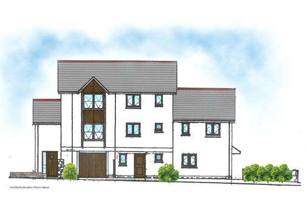2 Bedrooms Semi Detached House for sale in Castle Road, Okehampton, Devon