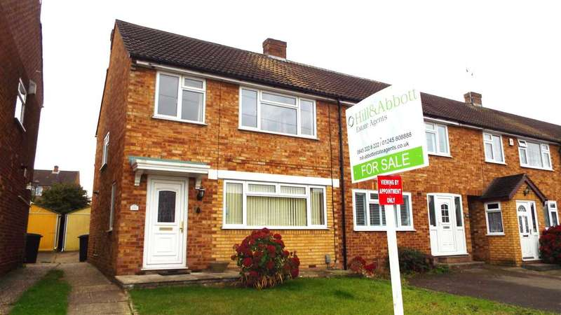 3 Bedrooms Semi Detached House for sale in Gloucester Avenue, Chelmsford