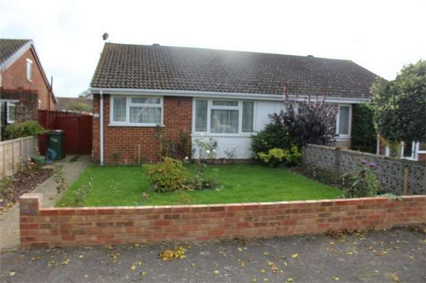 2 Bedrooms Semi Detached Bungalow for sale in Cedar Crescent, St Marys Bay, Romney Marsh, Kent