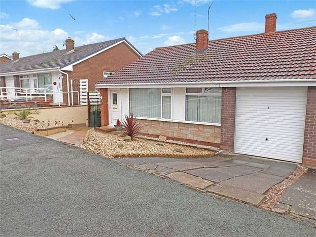 3 Bedrooms Semi Detached Bungalow for sale in Ffordd Cynan, Wrexham