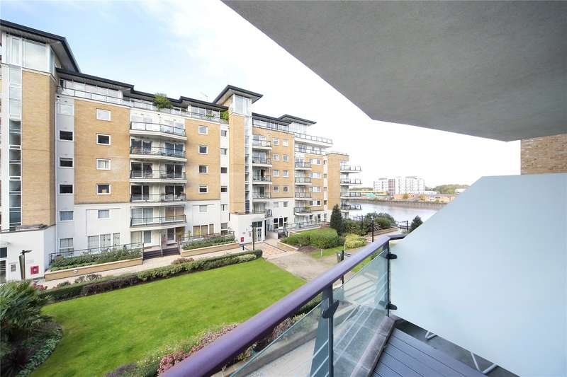 2 Bedrooms Flat for sale in Compass House, Smugglers Way, London, SW18