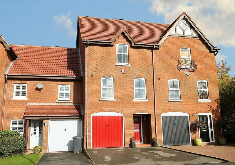 4 Bedrooms Town House for sale in Kensington Road, Off Wigginton Road, Tamworth, B79 8RE