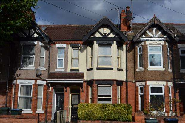 3 Bedrooms Terraced House for sale in Earlsdon Avenue North, Earlsdon, Coventry