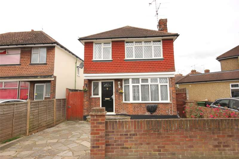 4 Bedrooms Detached House for sale in Rydens Way, Old Woking, Surrey, GU22