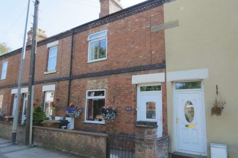 2 Bedrooms Terraced House for sale in Saxby Road, Melton Mowbray