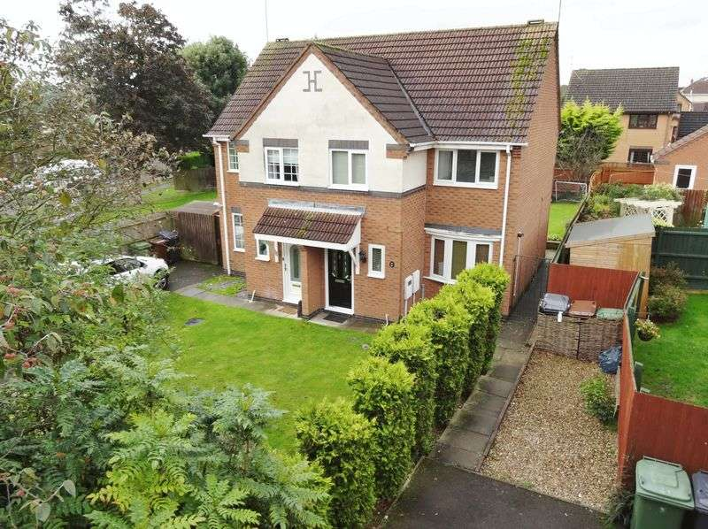 3 Bedrooms Semi Detached House for sale in Charnwood Road, Corby