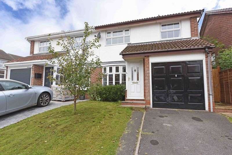 3 Bedrooms Semi Detached House for sale in Teal Crescent, Kempshott