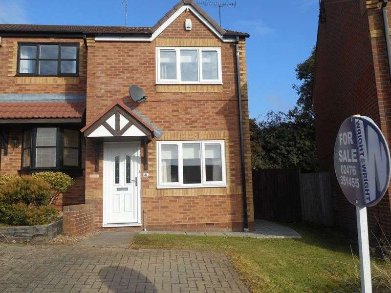2 Bedrooms Mews House for sale in The Hedgerows, Nuneaton