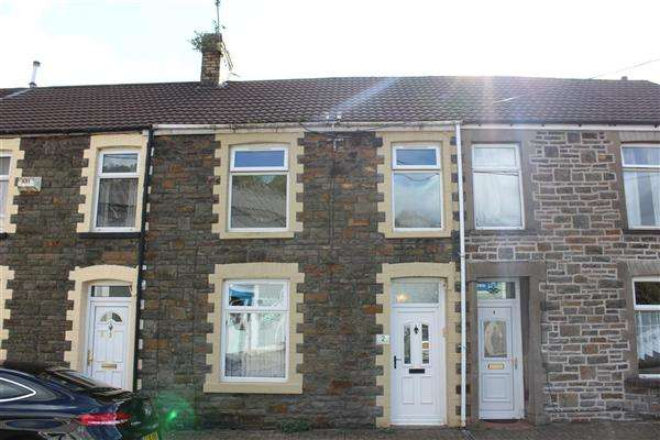 3 Bedrooms Terraced House for sale in Rose Cottages, Sheppard Street, Pwllgwaun, Pontypridd