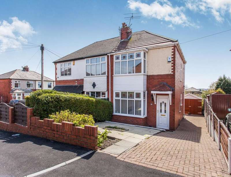 2 Bedrooms Semi Detached House for sale in Sunnyside Road, Smithills, Bolton, BL1