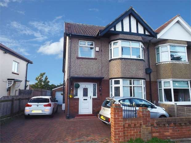3 Bedrooms Semi Detached House for sale in Westbrooke Avenue, Hartlepool, Durham