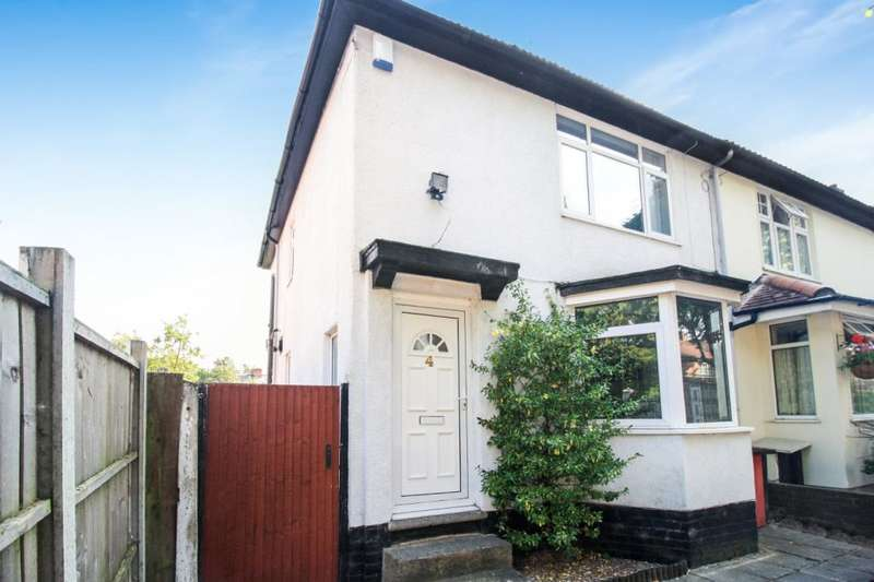2 Bedrooms Semi Detached House for sale in Arcot Road, Birmingham, B28 8LZ