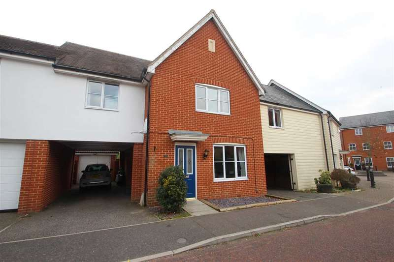 4 Bedrooms Link Detached House for sale in Septimus Drive, Colchester