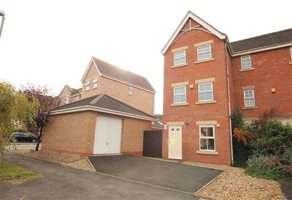 4 Bedrooms Town House for sale in Holland House Road, Walton Le Dale, Preston