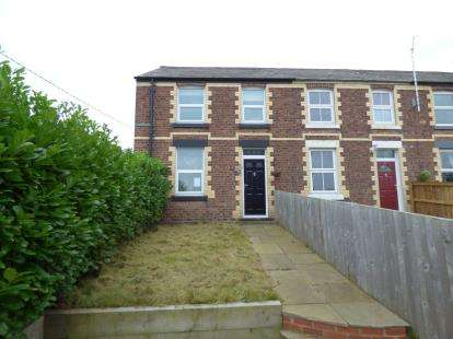 3 Bedrooms End Of Terrace House for sale in Knowle View, Daisy Hill Road, Buckley, Flintshire, CH7