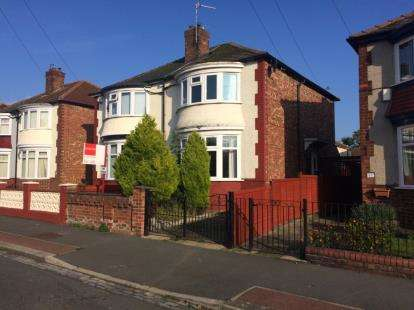 2 Bedrooms Semi Detached House for sale in Park Crescent, Darlington