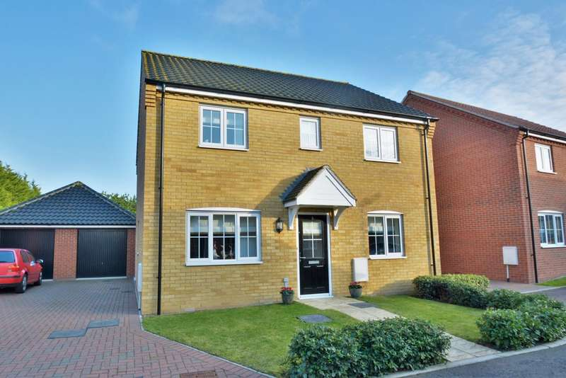 4 Bedrooms Detached House for sale in Blackbird Way, Harleston