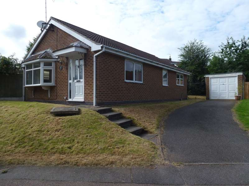 3 Bedrooms Detached Bungalow for sale in Campion Hill, Castle Donington, Derby