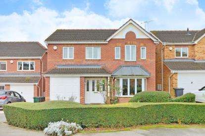 4 Bedrooms Detached House for sale in Ashfield Way, Sunnyside, Rotherham, South Yorkshire